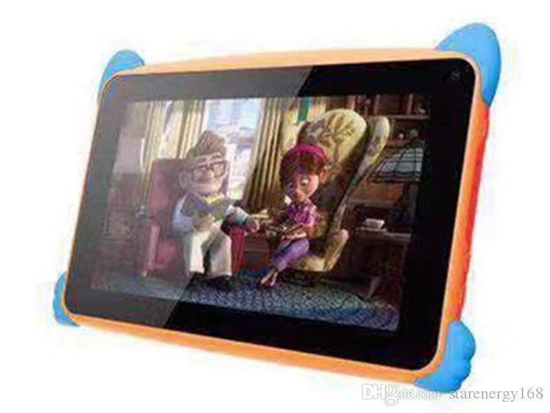 "2019 NEW Kids Brand Tablet PC 7"" 7 inch Quad Core children tablet Android 4.4 Allwinner A33 google player 512MB RAM 8GB ROM EBOOK MID"