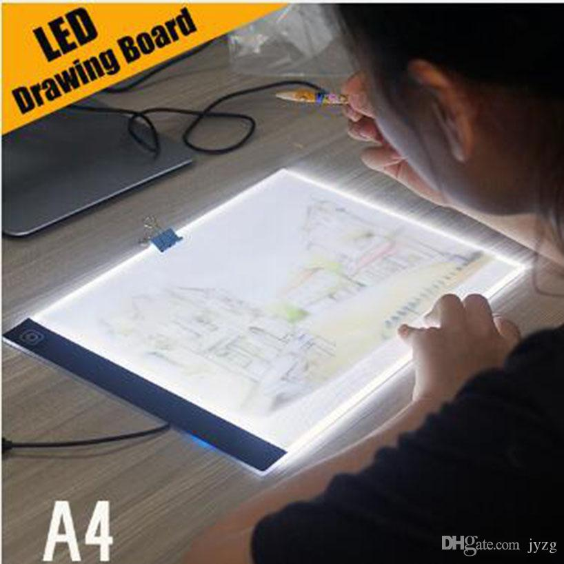 Digital Graphic Tablet A4 LED Graphic Artist Thin Art Stencil Drawing Board Light Box Tracing Table Pad Drawing Graphic Tablets