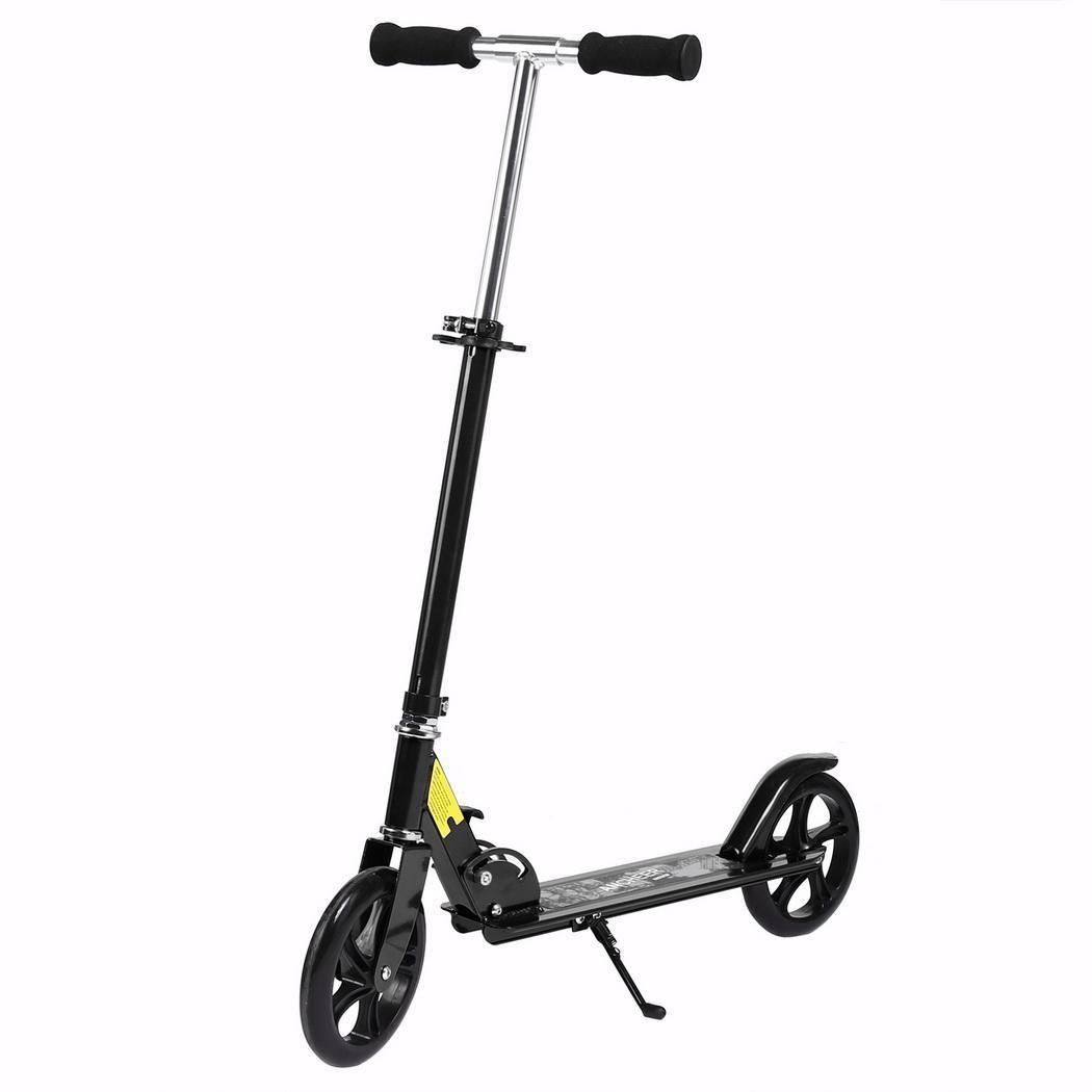 2 Rad Roller Für Erwachsene Kinder Folding Tragbare Mini Fahrrad Erwachsene Tretroller Höhe Einstellbar Roller Professionelles Design Sport & Unterhaltung