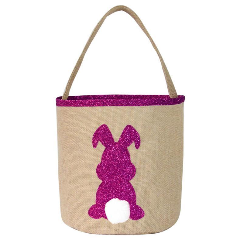 Bunny Easter Basket Candy Egg Bag Children Carry Gifts Lovely Tote Handbag