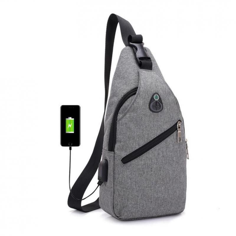2019 Male Chest Bag Fashion Leisure Waterproof Man Oxford Cloth Korea Style  Messenger Shoulder Waist Bag For Teenager Bag MMA1361 From  Liangjingjing no1 0aeae90ba0092