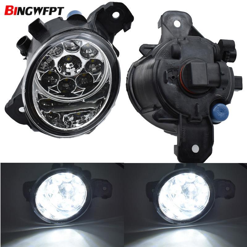 Car Styling LED Fog Lights Lamps For Nissan Sentra (not fit the SE-R trim)  2004-2012 Left Right Front Bumper Fog Lamp Light