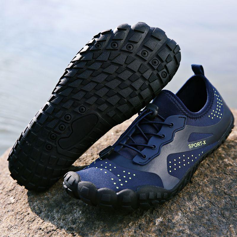 b772368a0 Compre Dr.Eagle Zapatillas Para Hombre Zapatillas De Natación Para El Agua Buceo  Aqua Buceo Verano Zapatillas De Piel Para La Playa Zapatillas De Deporte ...