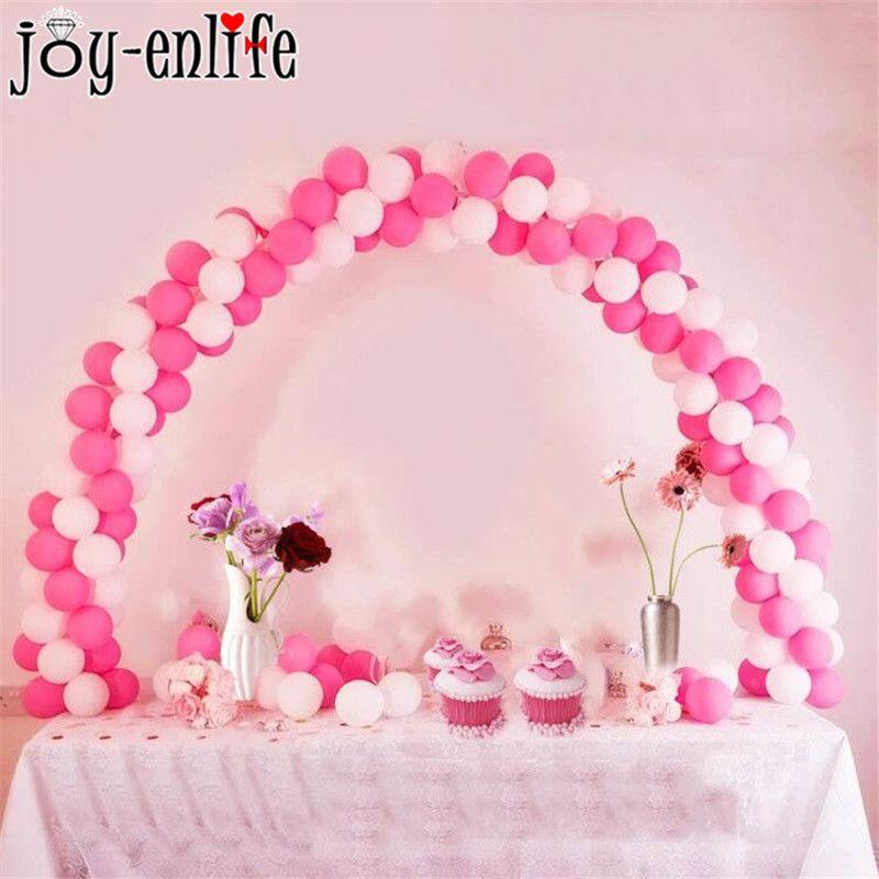 Balloon Column Stand Kit For Birthday Baby Shower Table Wedding Decor 1 set