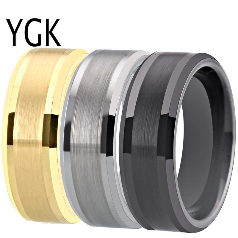 c1032327521d89 Classic Men's Ring Wedding Band Rings For Women Matte Finished Engagement  Tungsten Rings Custom Engraving Anniversary Jewelry Online with  $35.03/Piece on .