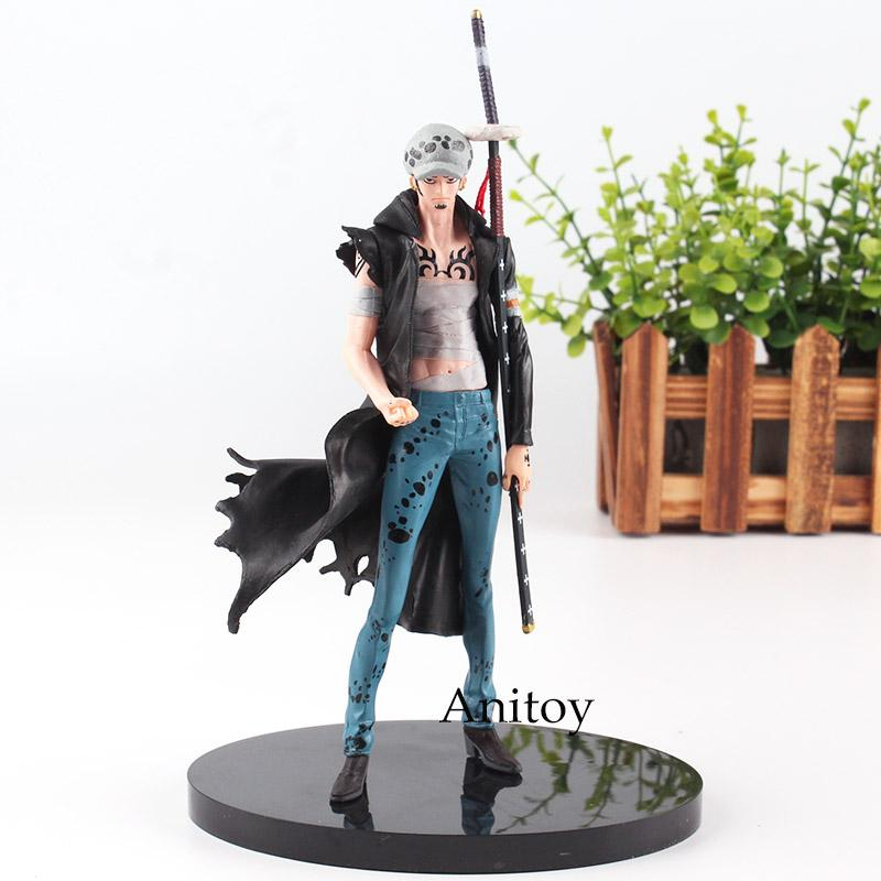 One Piece Figure One Piece Anime Trafalgar Law Action Figure SCultures BIG Toy Paramount War Ver. Vol 6 18cm