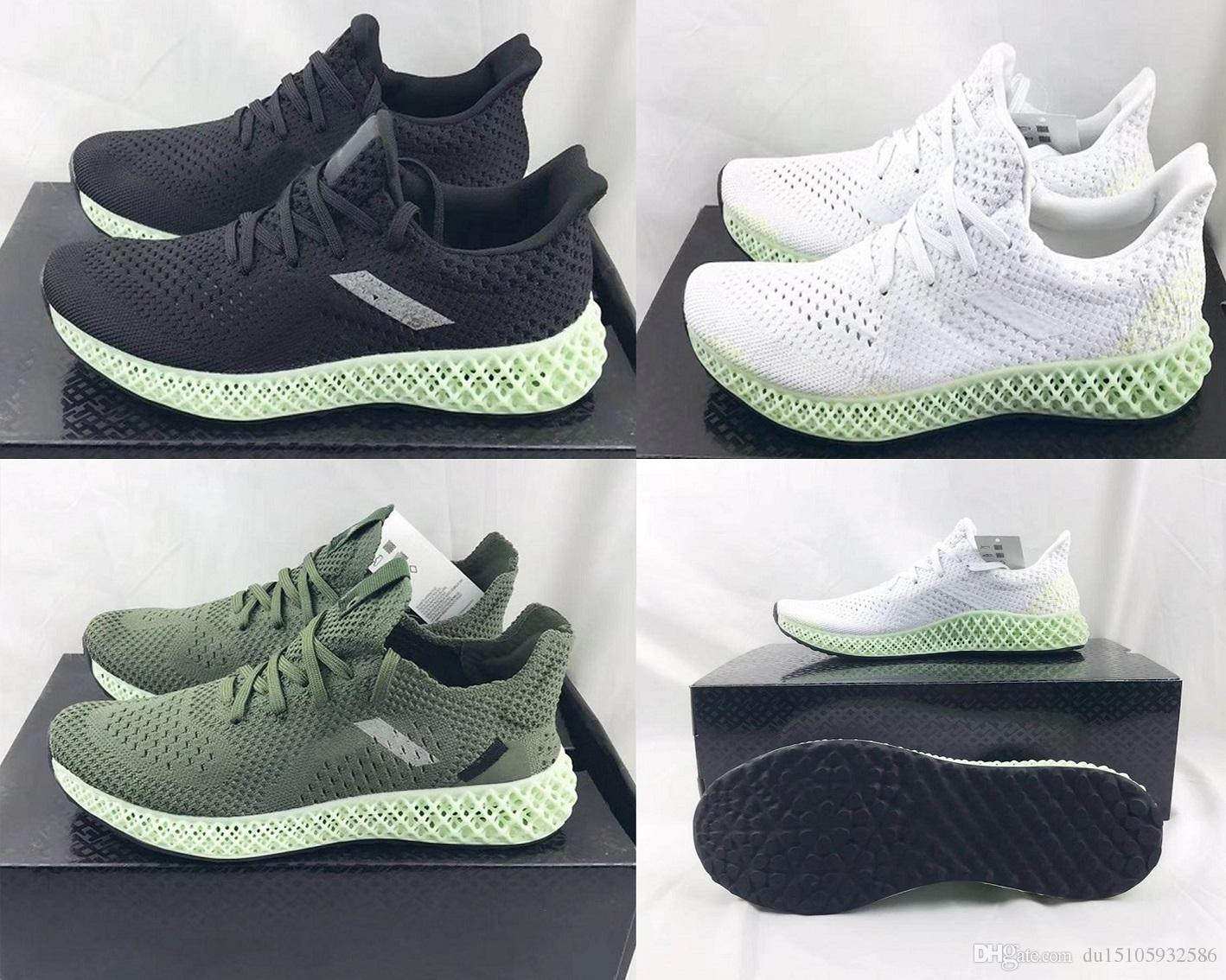 98c9d6b06 2018 Newest Futurecraft Alphaedge 4D Asw Y-3 Runner Y3 Mens Outdoor Casual  Shoe Top Quality Size39~46 with Original Box Futurecraft Alphaedge 4D 4D ...