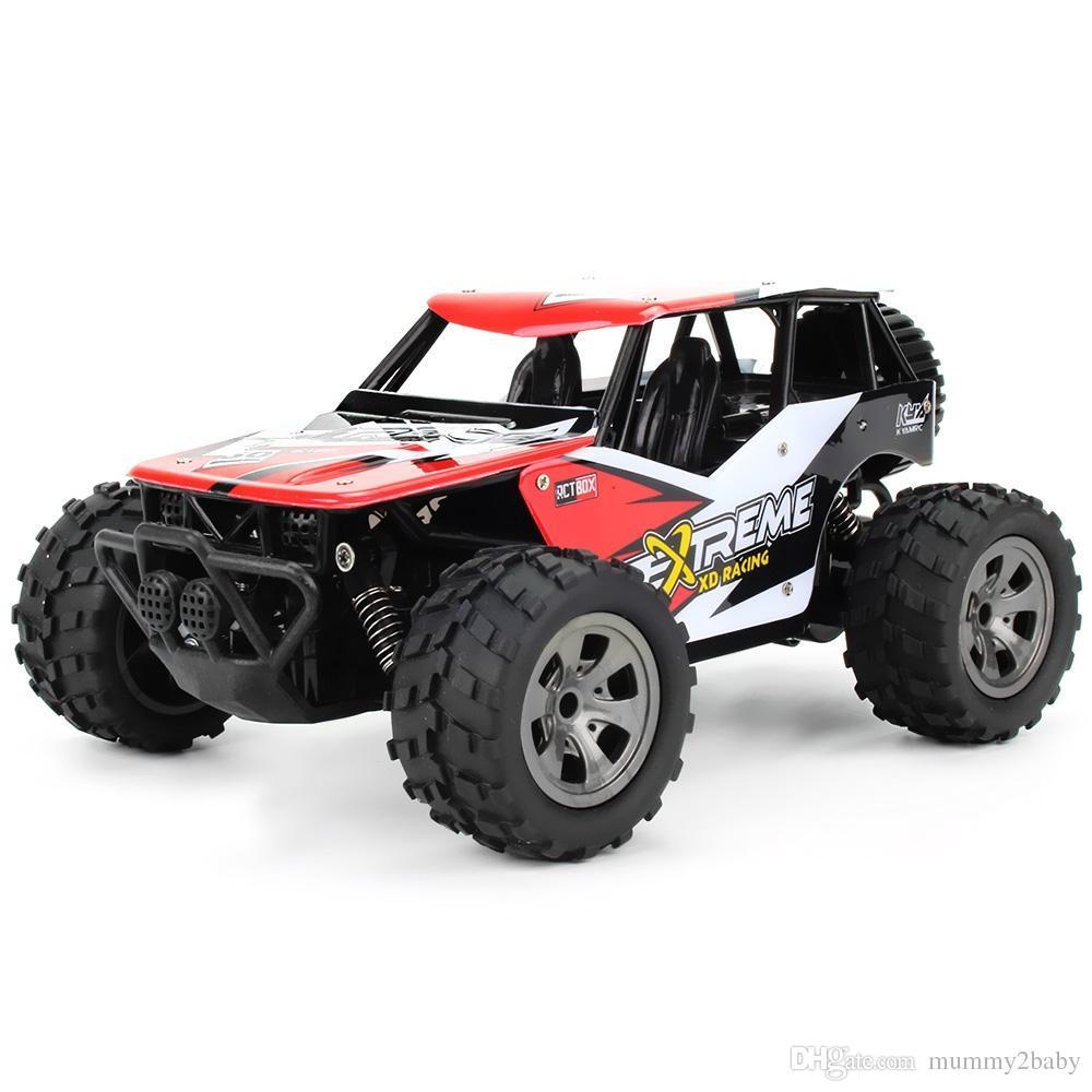 Monster Truck Rc Cars >> Rc Buggy 2 4g 1 18 18km H Rc Monster Truck Car Rtr Drive Bigfoot Car