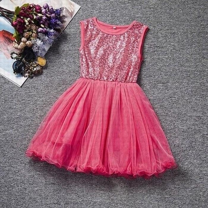 77a79d1ee7e6 Sequins Tulle Children Formal Party Special Occasions Dress,Charming  Princess Flower Girl Dress Girl Dresses AL13 Flower Girl Dresses Ivory  Flower Girl ...
