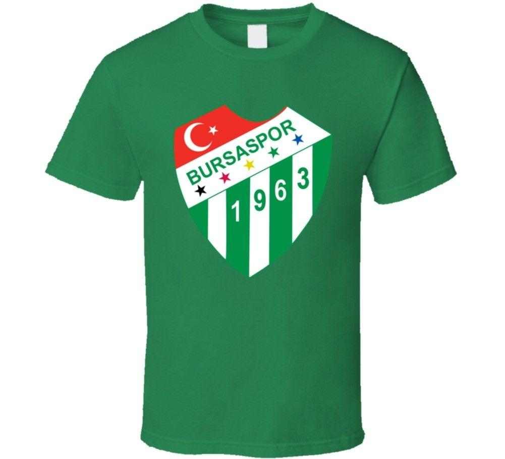 c108f54a Bursaspor Turkish Soccer Team Football Club Super Lig Turkey T Shirt Funny  Unisex Casual Awesome T Shirt Designs Tea Shirts From Pickapair, $12.96|  DHgate.