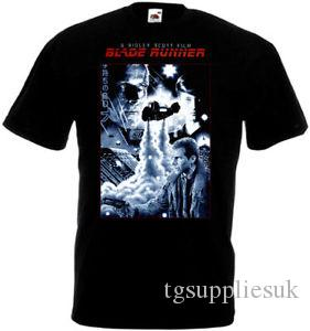 Blade Runner v17 T shirt black movie poster all sizes S 5XL