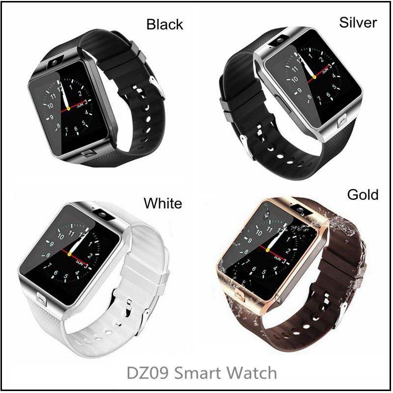 b02a6a9688f Relojes Pontina DZ09 Reloj Smart Watch Bluetooth Reloj Deportivo Con Cámara  Relojes Inteligentes Para IPhone Android Samsung Soporte TF Tarjeta SIM  Mejor ...