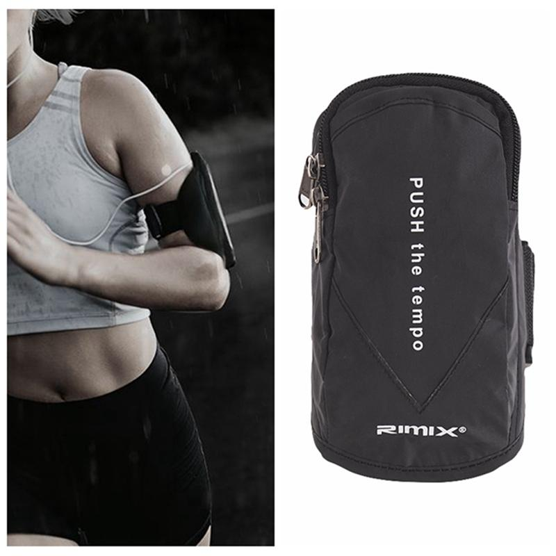 Unisex Running Bag Women Men Jogging Sport Armband Gym Arm Band Case Cover Sale A Great Variety Of Goods Running Bags