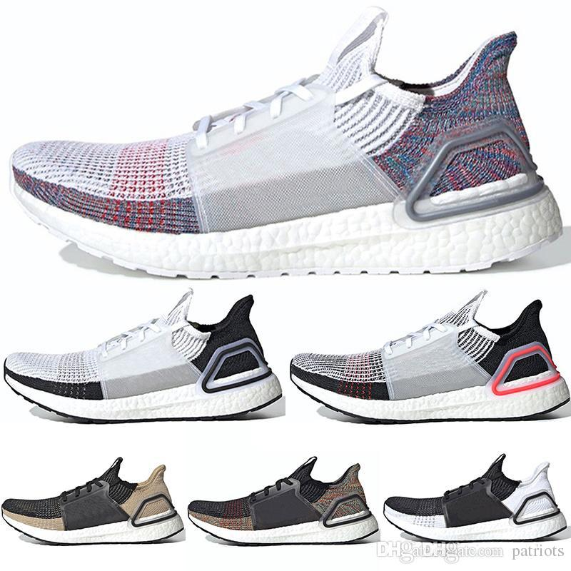 new products 3cfb5 62e8c 2019 Ultra Boosts Mens Running Shoes Triple Black White ultraboost Uncaged  5.0 Women Sneakers Trainers Designer Shoes size 36-46