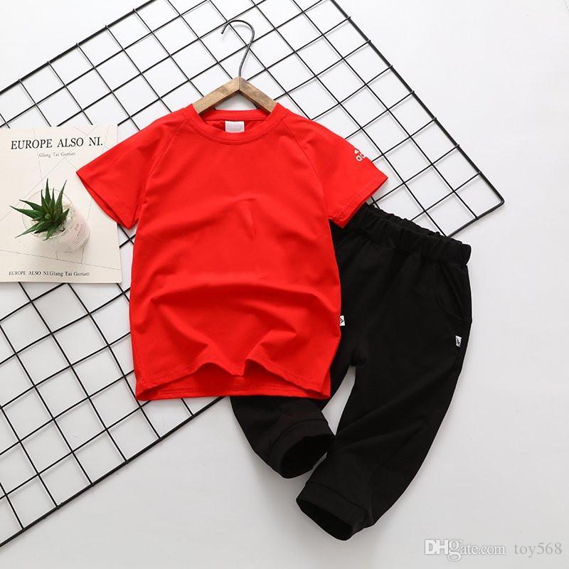 e10549e3b4cbe Acheter T Shirt + Pantalon D été Pour Garçons Et Filles