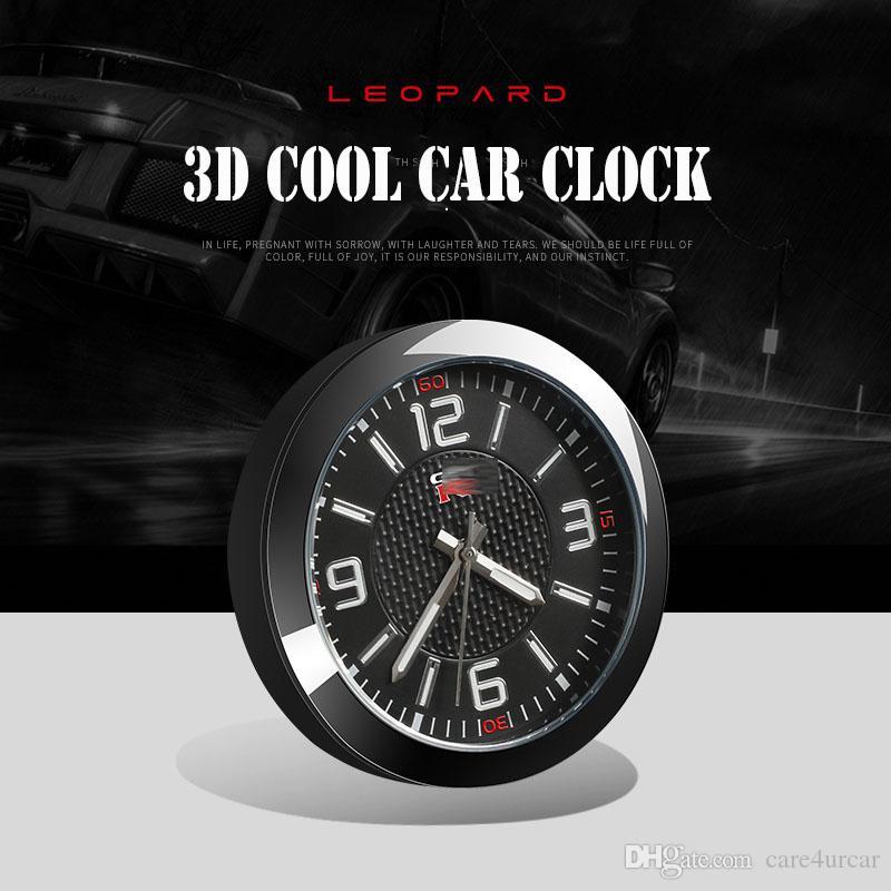 66e245e4f76 Compre Relógio On Board 3D Estéreo Para Nissan GTR Auto De Alta Precisão  Luminosa Relógio De Quartzo Eletrônico Personalizado Acessórios Interiores  ...