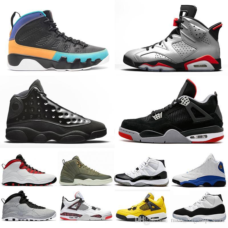 size 40 882df 41233 Acquista New Michigan 12 12s Scarpe Da Basket Cement 10s Prom Night Concord  11s Cap And Gown 13s Class 2002 Sneakers Sportive Uomo 36 47 A  92.16 Dal  ...