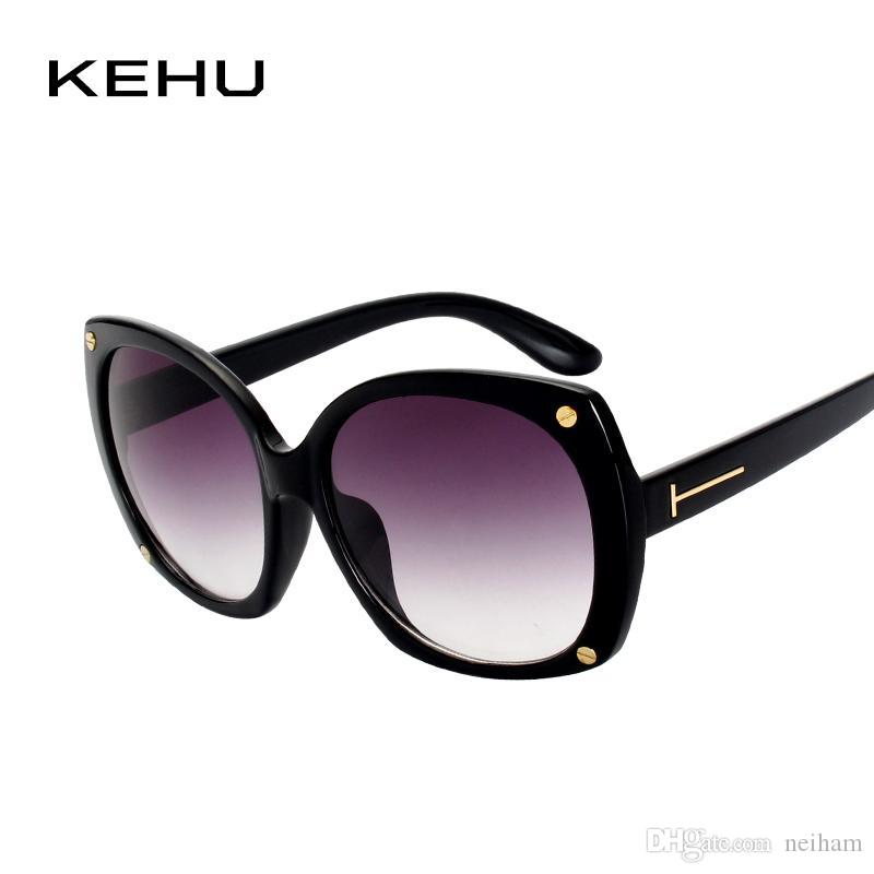 4f60aa3e535 KEHU Design New Sexiness Women Sunglasses Square Glasses Vintage Big Frame Sunglasses  Women Gradient Unique Eyeglasses K9132 Prescription Glasses Sunglass ...