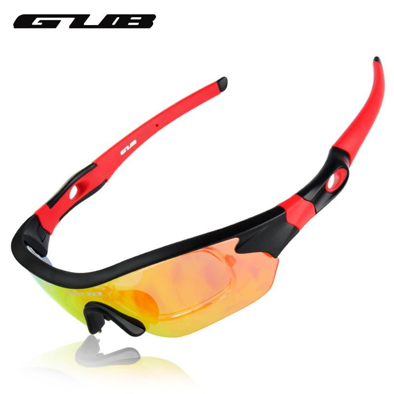 wholesale 5300 Polarized Cycling Eyewear UV400 Protection Goggles With 3 Lenses 3 Colors Lightweight Colorful Riding