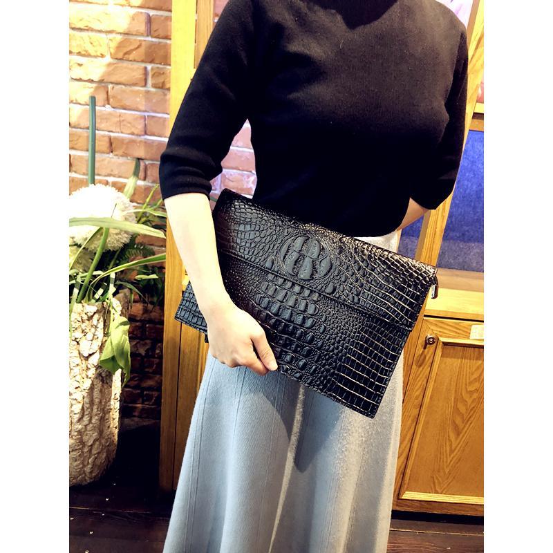 44235cfcd7 Handbags New Crocodile-print Handbags Fashion Leisure Chaozhou ...