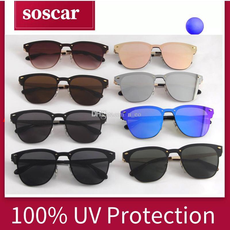 8d325651185 New Blaze Sunglasses for Women Soscar 3576N Luxury Brand Designer ...