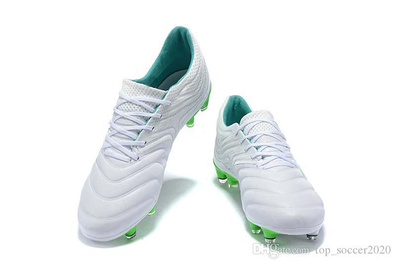 buy popular ddeab 42348 Acheter Taille 39 45 Vente Meilleure Qualité Exposition Copa 19.1 FG Bottes  De Football Copa 19.4 FG Chaussures De Football En Plein Air Hommes Crampons  De ...