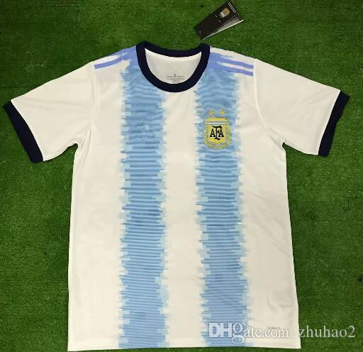 d471162c9 2019 2019 2020 Argentina Home Away Jersey Argentina MESSI DYBALA DI MARIA  AGUERO HIGUAIN Soccer Shirt Home National Team 19 20 Football Jersey From  Zhuhao2