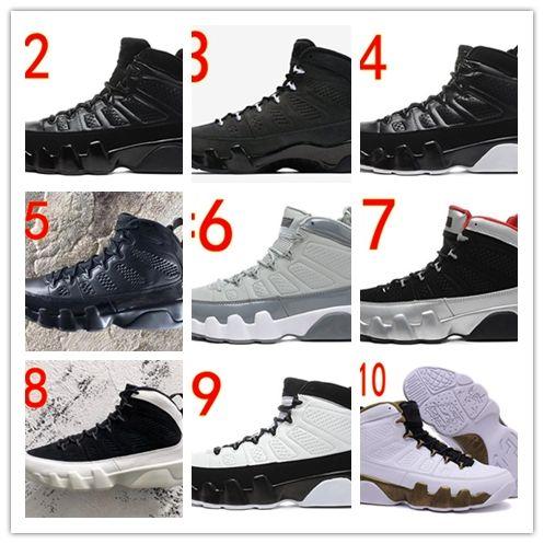 2e7c0dc8d0e4 Hot Sale 2019 New 9 9s Men Basketball Shoes Bred OG Space Tour ...