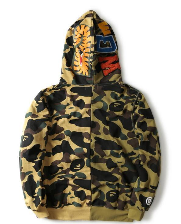 008b922e98e7b Men Wome Coat Jogger Mens Women Pullover Sportwear Fleece Sweatshirt  Crewneck Drake Purple Hip Hop Casual Hoodie Luminous Shark Mouth Jack Mens  Jackets ...