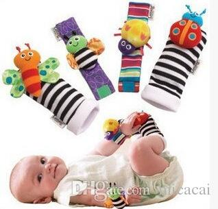 Baby Rattle Baby Toys 0-12 Months Sozzy Garden Bug Wrist Rattle and Foot Sock Educational Toys Christmas
