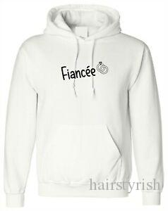 Fiancee Hoodie Tee Shirt Just Engaged Engagement ring Gift Valentines Day Jumper