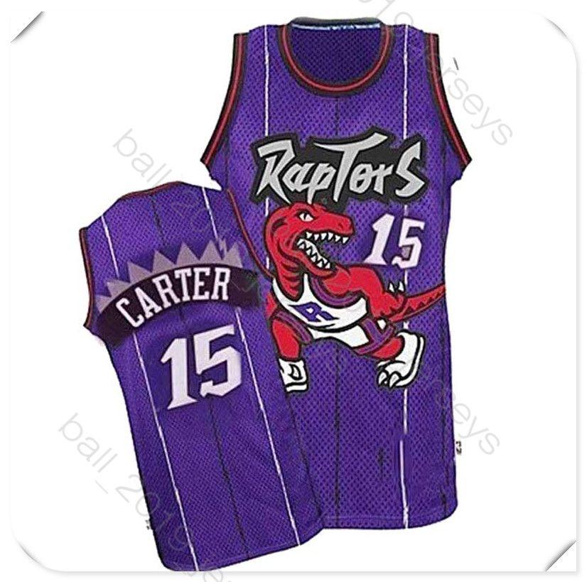 huge discount a6b27 7b84f 15 Carter jersey Toronto 2019 Raptors jersey 2 Leonard 7 Lowry 1 McGrady  hot sell Retro basketball jerseys