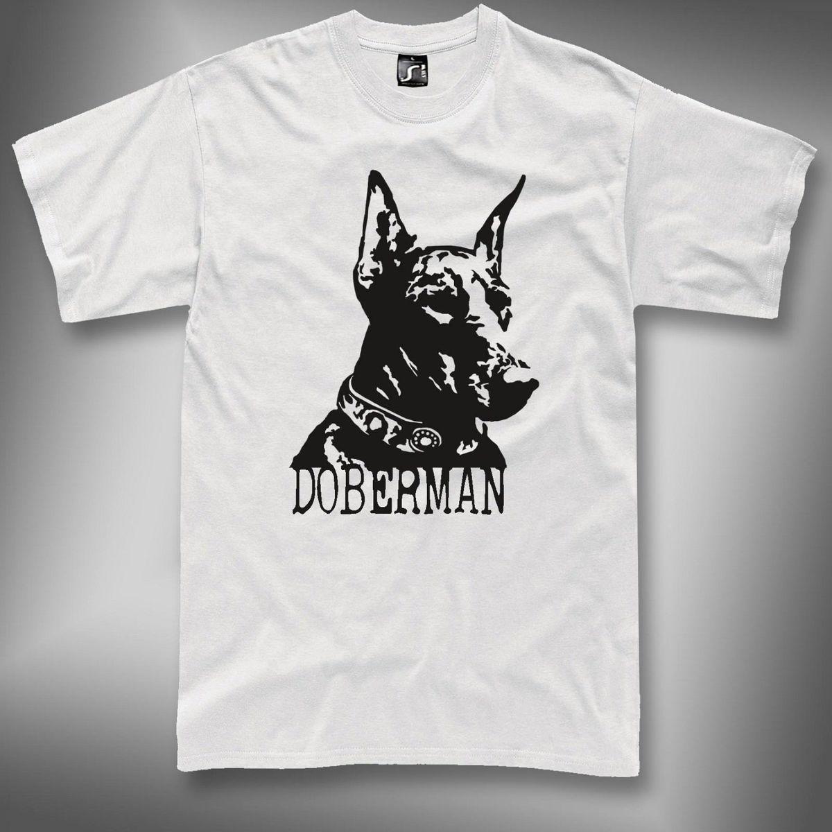 109395bb19e2a Doberman T Shirt Dog Doberman Pinscher Tshirt S 5XL Printing Tee Shirts  Cool Funny T Shirts From Yuxin0009, $14.67  DHgate.Com