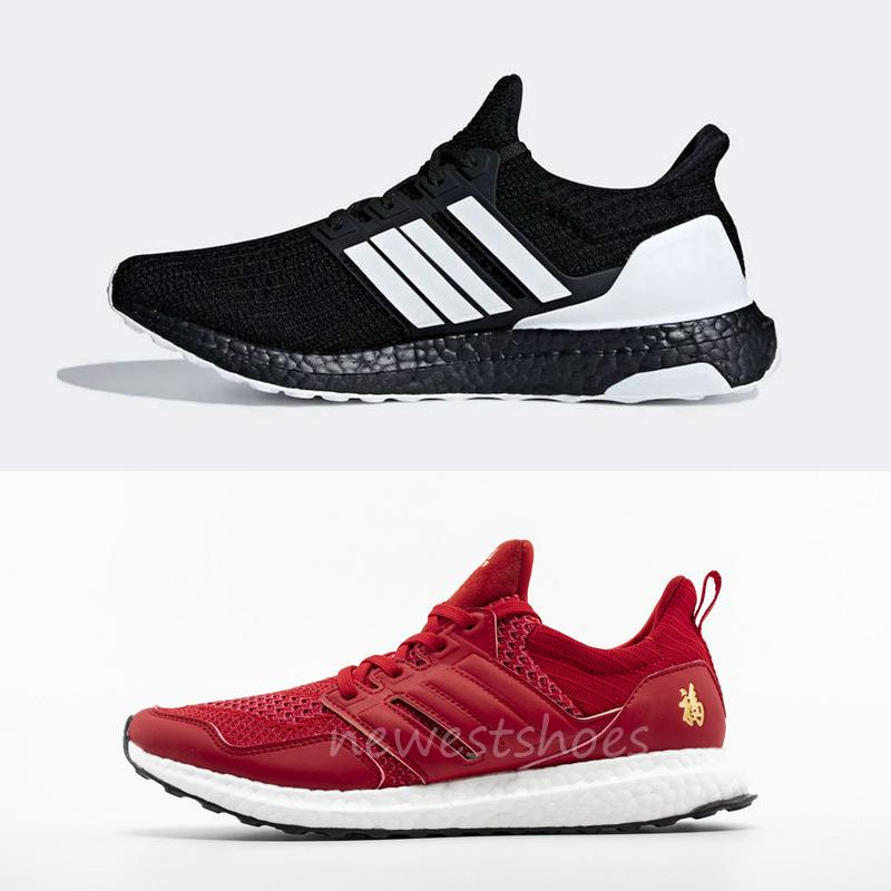 official photos ee717 fe054 2019 New Running Shoes For Men Ultra 4.0 Orca G28965 Eddie Huang CNY F36426  Casual Sneakers Black White Oreo Sports Designer Boots Us 6.5-11