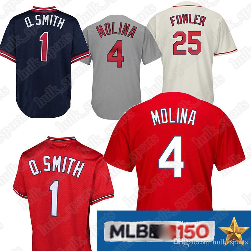 1bd1a8d633d 2019 4 Yadier Molina Jersey 25 Dexter Fowler St. Louis Jerseys ...