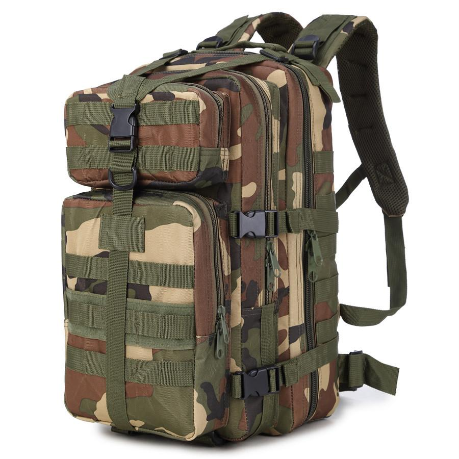 3P Backpack Army Tactical Large Capacity Assault Bags Men Outdoor Hunting Hiking Camping Climbing Camouflage Backpacks