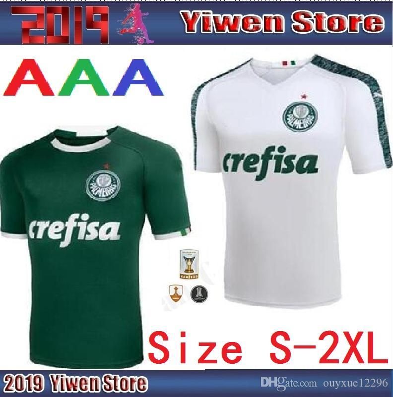 2019 S XXL 2019 2020 Palmeiras Soccer Jersey Home Away 19 20 Deyverson  Willian Deyverson Lucas Lima Dudu Footballl Shirts Camiseta De Futbol From  ... d0d698f8f