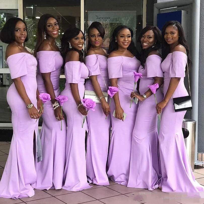 Lavender Bridesmaid Dresses Cheap