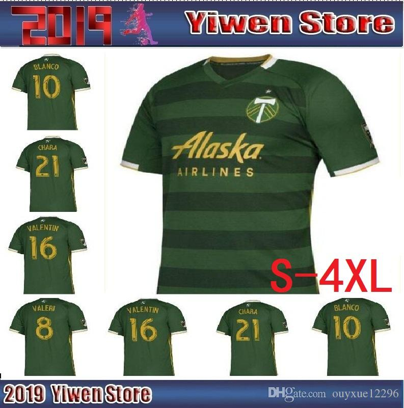 buy online 34aed 3d4a0 2019 2020 MLS Futbol Club Portland Timbers home Soccer Jerseys Football  Shirt 19 20 Portland Timbers home men Soccer jerseys Football Shirts