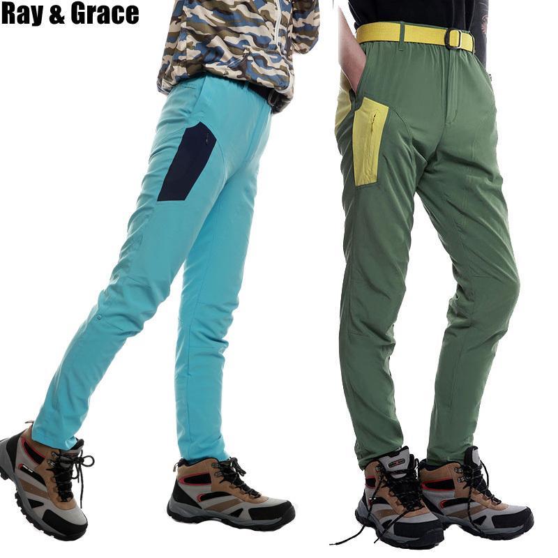 f9aec71e6b Compre Ray Grace Hombres De Secado Rápido Pantalones De Senderismo ...
