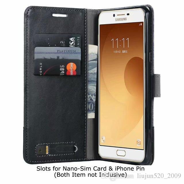 Case For Ssmsung Galaxy A10 A20 A30 A40 A50 C5 C7 C9 J3 J5 J6 J7 J8 2017 2018 M10 Wallet Card slot PU Leather Flip Cover