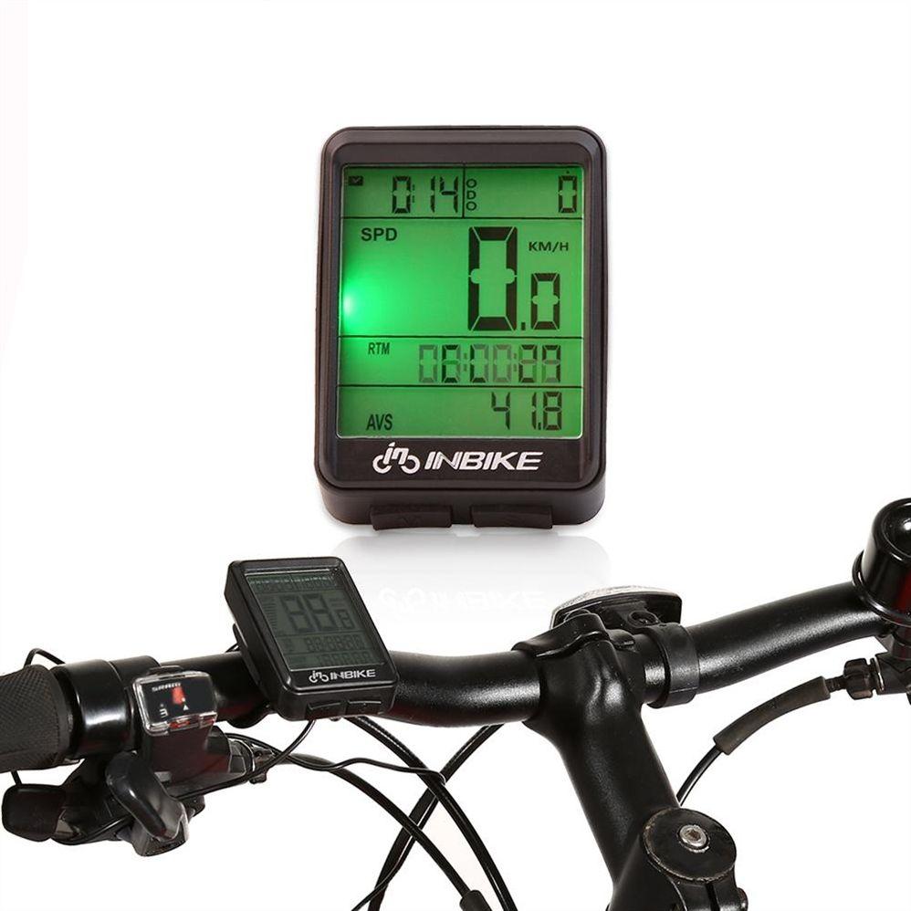 71f281b90 Bicicleta Impermeable Ordenador Inalámbrico MTB Bicicleta De Carretera  Ciclómetro Cuentakilómetros Bicicleta Impermeable Velocímetro Reloj LED  Digital Rate ...