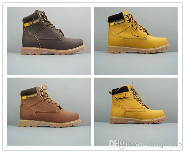 Dadijer Outdoor Shoes Winter Men Boots High Quality Male Leather