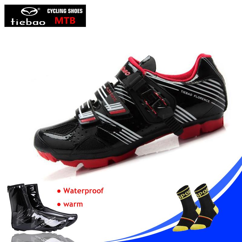 Compre Tiebao Sapatos De Ciclismo Mountain Bike Shoes Mtb Equitação ... 4b80b83006