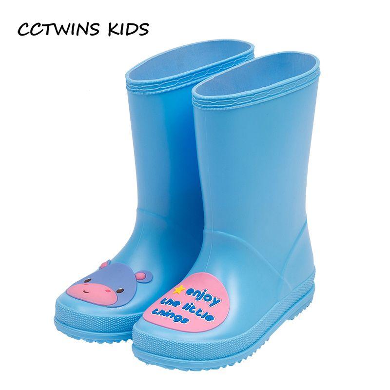 Cctwins Mädchen Blau Marke Kleinkind Wellington 2017 Regen Booties Kids Stiefel Yellow Wasserdichte Schuh C1116 Pvc Baby Kid Junge Kinder rCBoexd