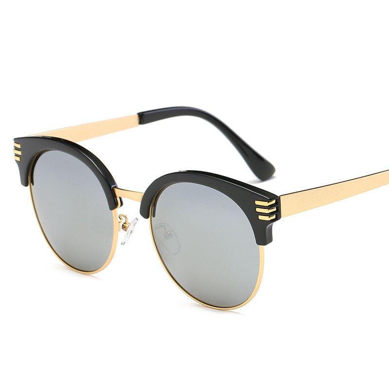 8f74707de7ba Design Cat Eye Sunglasses Women Polarized Luxury Alloy Frame Sun Glasses  Fashion Retro Oculos De Sol Gafas Online with  33.73 Piece on Mingring001 s  Store ...