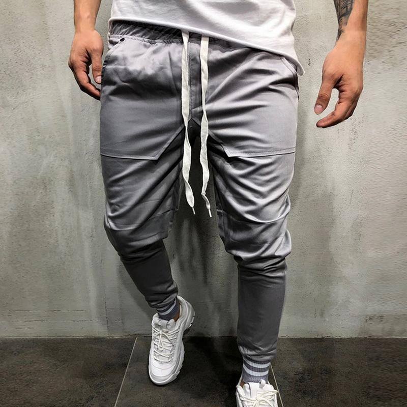 177c7a91056ee9 2019 New Men'S Sweatpants Side Stripe Hip Hop Track Pants Street Wear  Skinny Jogger Running Pants Elastic Waist Male Casual Trousers From  Panacloth, ...
