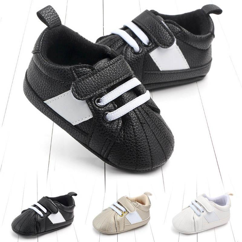 0-1year Baby sneakers leather baby shoes toddler shoes Moccasins Soft First Walker Shoe Leather Infant sneakers designer Newborn Shoes A4772