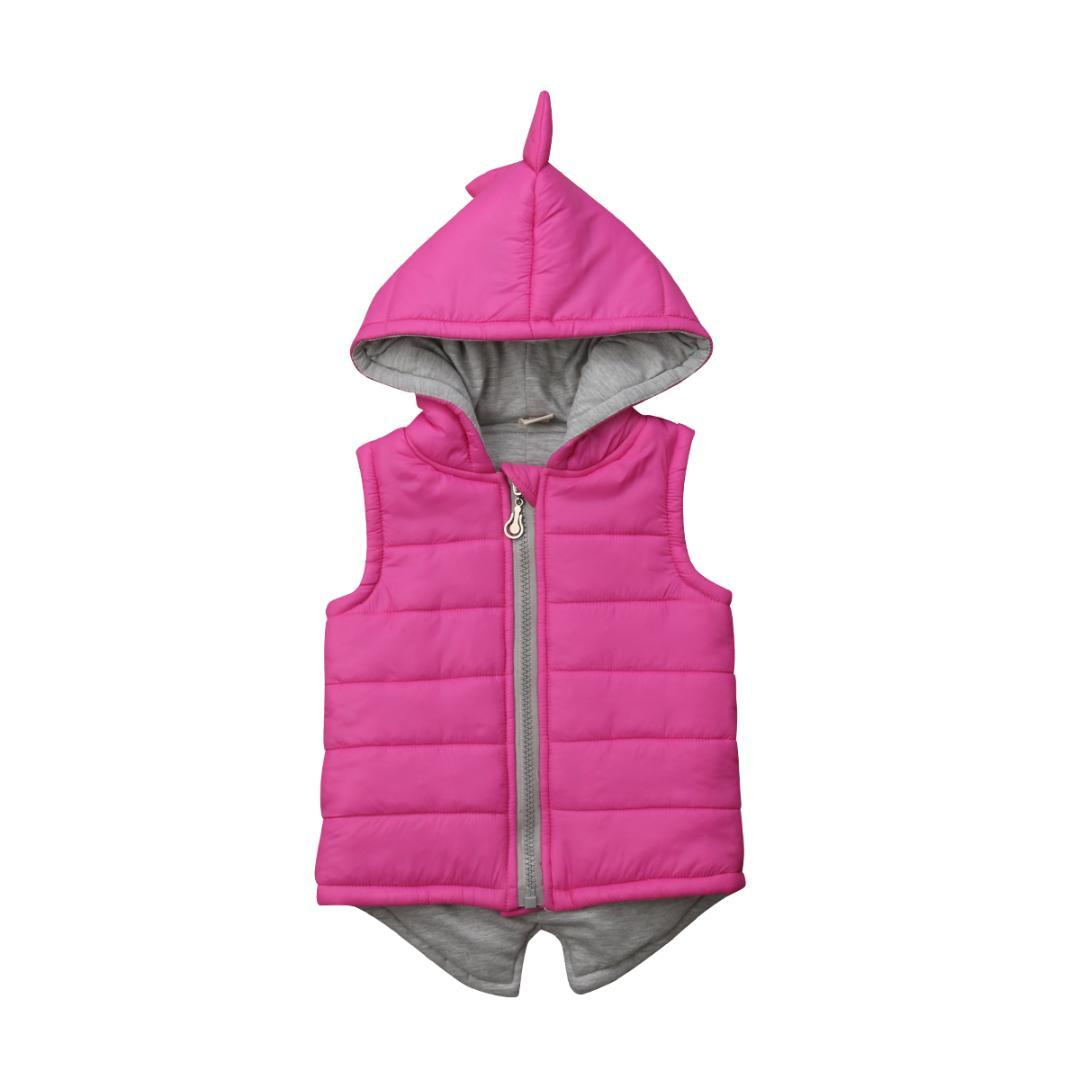 650bf777d 2019 Multitrust Brand Infant Baby Girl Winter Warm Dinosaur Hooded ...