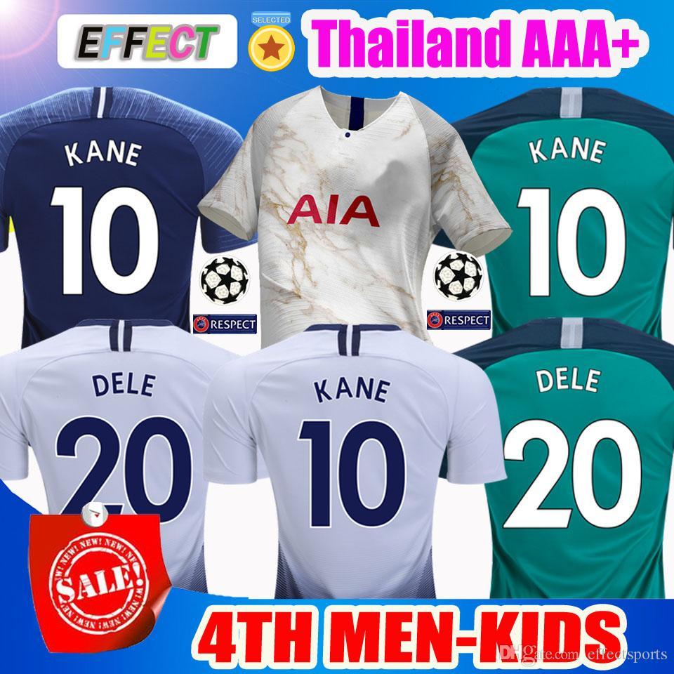 569bf75177589 2018 Tottenham hotspur Camisa De Futebol KANE Spurs Camisas De Futebol 2019  DEMBELE ERIKSEN DELE FILHO Jersey 18 19 camisas De Futebol kits Melhor  Qualidade ...
